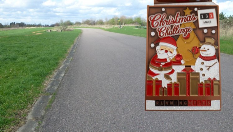 Running Miles Ltd, Running Miles - Christmas Challenge 2021 - online entry by EventEntry