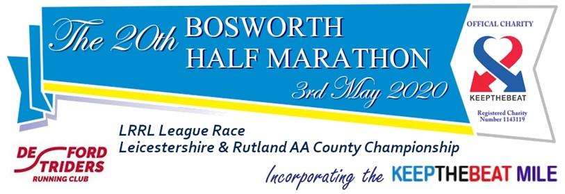 Bosworth HM, Bosworth Half Marathon - 2021 - online entry by EventEntry