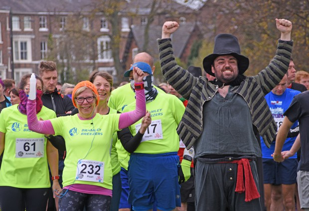 See York Run York, Gunpowder Plot 10km 2020 - online entry by EventEntry