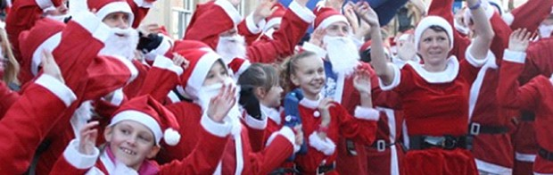 Rotary Club of Loughborough, Loughborough Santa Fun Run & Walk - online entry by EventEntry