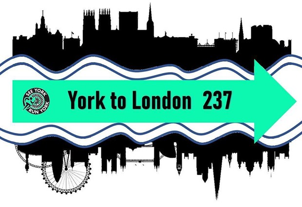 See York Run York, York to London Virtual Run - online entry by EventEntry