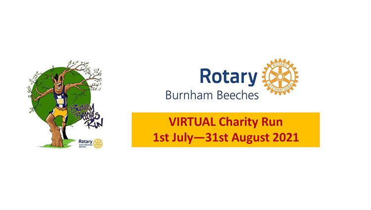 Burnham Beeches Rotary Club, Burnham Beeches Rotary Virtual Run 2021 - online entry by EventEntry