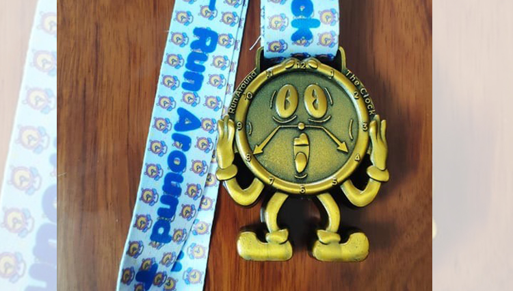 Infinity Running, INFINITY - Run Around the Clock Challenge - online entry by EventEntry