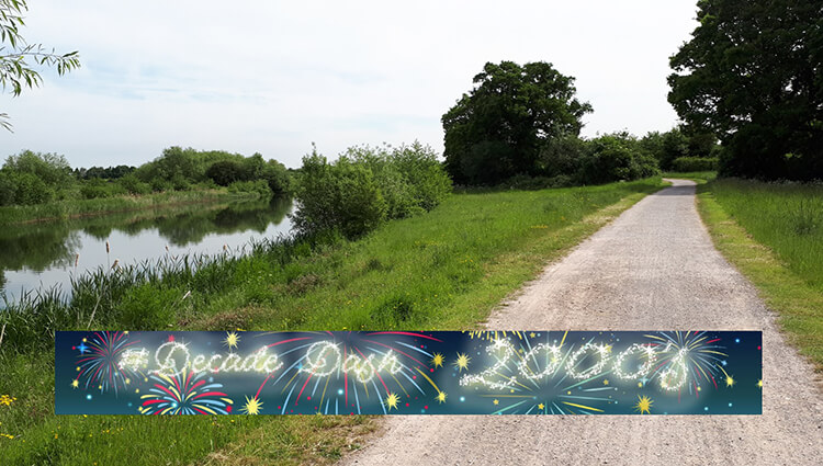 Running Miles Ltd, Running Miles - Decade Dash 00's - online entry by EventEntry