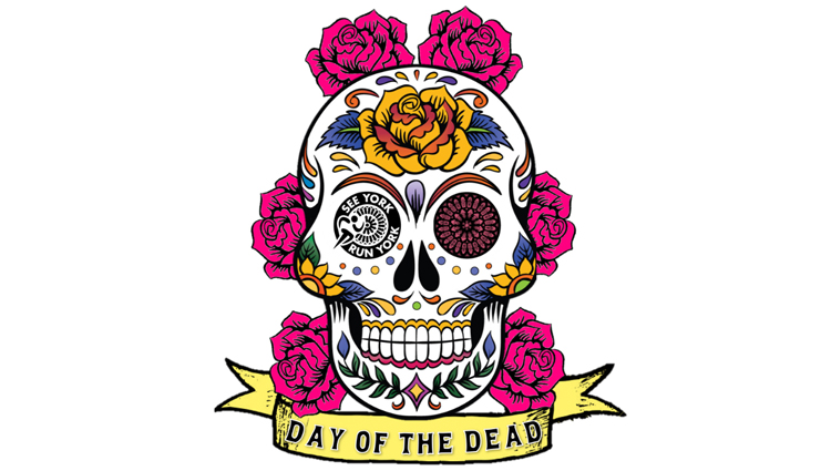 See York Run York, Day of the Dead 10K - VIRTUAL - online entry by EventEntry