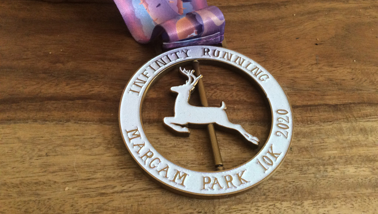 Infinity Running, INFINITY - Margam Park - VIRTUAL - online entry by EventEntry