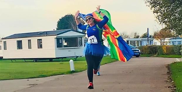 Vigilantes Running, Maravan Marathon Day 1 2021 - online entry by EventEntry