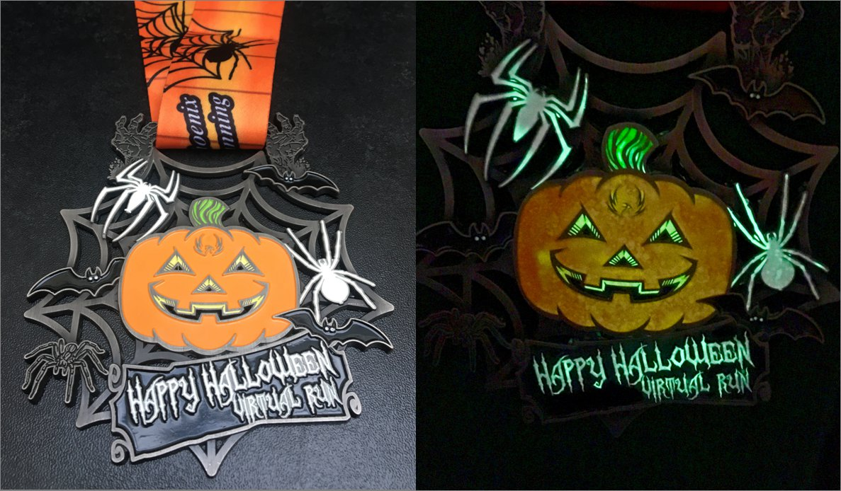 Phoenix Running Ltd, PHOENIX - Halloween Virtual - 5km & 10km Run - online entry by EventEntry