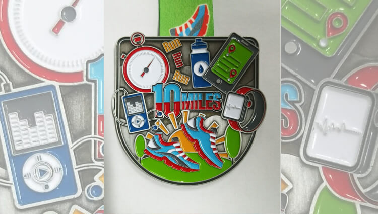 My Virtual Medal, My Virtual Medal - Running Essentials 10 Miles - online entry by EventEntry