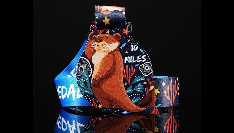 My Virtual Medal, My Virtual Medal - Otter - online entry by EventEntry