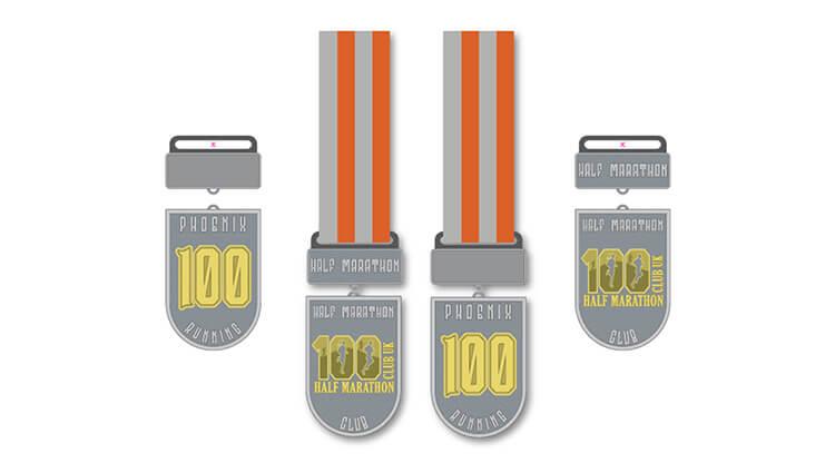 Phoenix Running Ltd, PHOENIX - 100 HALF Marathon Club AGM & Timed Event 2022 - online entry by EventEntry