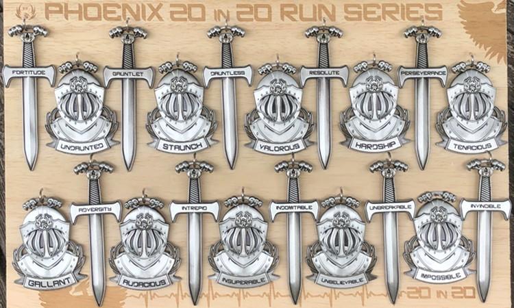 Phoenix Running Ltd, PHOENIX - VIRTUAL - Twenty in Twenty Run Series - online entry by EventEntry