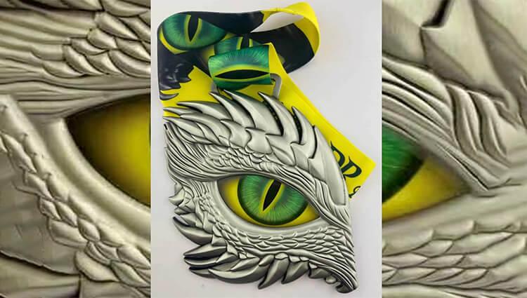 Phoenix Running Ltd, PHOENIX - VIRTUAL - Dragon's Eye - Green - online entry by EventEntry