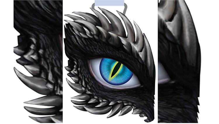 Phoenix Running Ltd, PHOENIX - Dragon's Eye - Blue - online entry by EventEntry