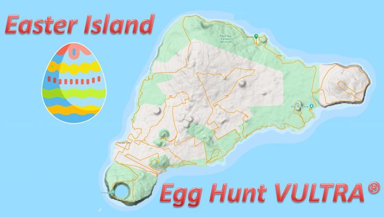 Phoenix Running Ltd, PHOENIX - VIRTUAL - Easter Island Egg Hunt VULTRA - online entry by EventEntry