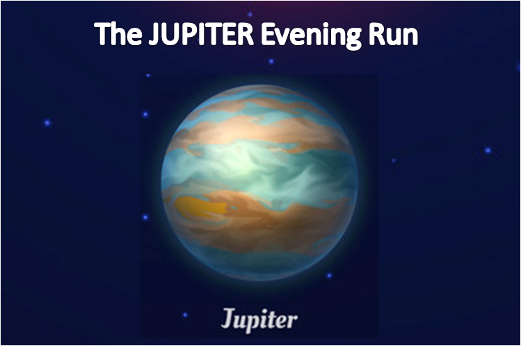 Phoenix Running Ltd, PHOENIX - The JUPITER Evening Run - 2021 - online entry by EventEntry