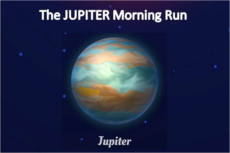 Phoenix Running Ltd, PHOENIX - The JUPITER Morning Run - 2021 - online entry by EventEntry