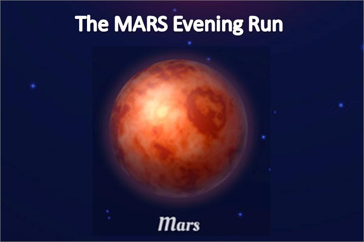 Phoenix Running Ltd, PHOENIX - The MARS Evening Run - 2021 - online entry by EventEntry
