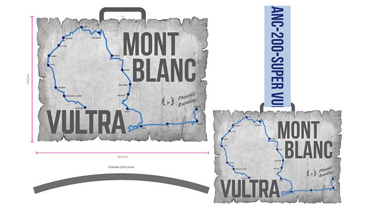 Phoenix Running Ltd, PHOENIX - VIRTUAL - Mont Blanc Super-VULTRA - online entry by EventEntry