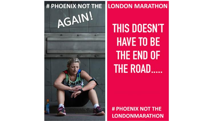 Phoenix Running Ltd, PHOENIX - NOT the London Marathon Run AGAIN 2021 - online entry by EventEntry