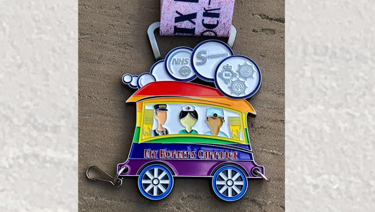 Phoenix Running Ltd, PHOENIX - VIRTUAL - Phoenix Party Train Key Worker Carriage - online entry by EventEntry