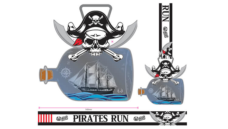 Phoenix Running Ltd, PHOENIX - Christmas Pirates Run - online entry by EventEntry