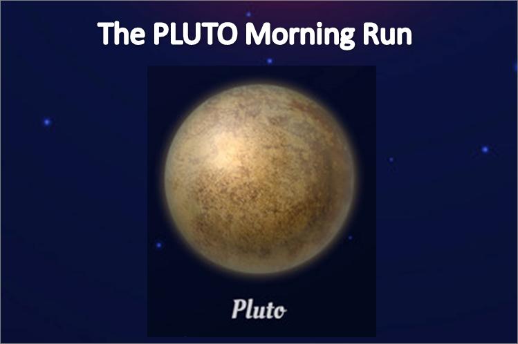 Phoenix Running Ltd, PHOENIX - The PLUTO Morning Run - 2021 - online entry by EventEntry