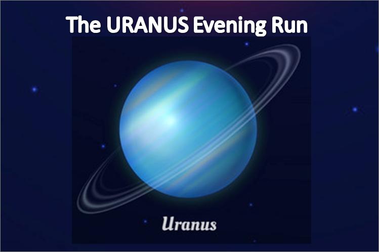 Phoenix Running Ltd, PHOENIX - The URANUS Evening Run - 2021 - online entry by EventEntry