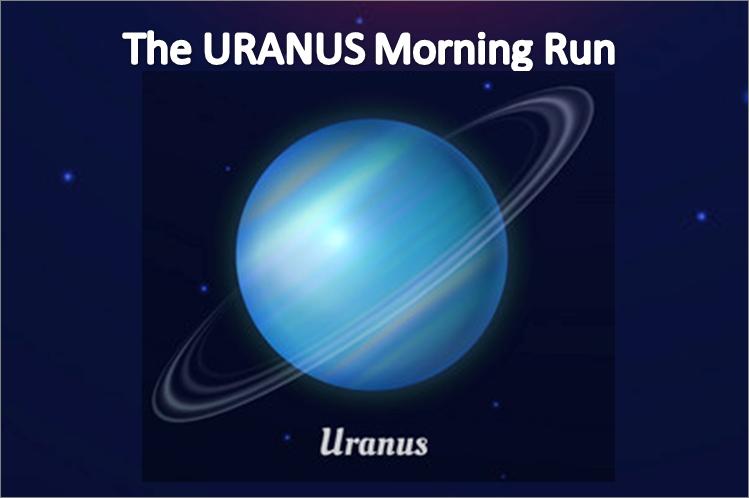 Phoenix Running Ltd, PHOENIX - The URANUS Morning Run - 2021 - online entry by EventEntry