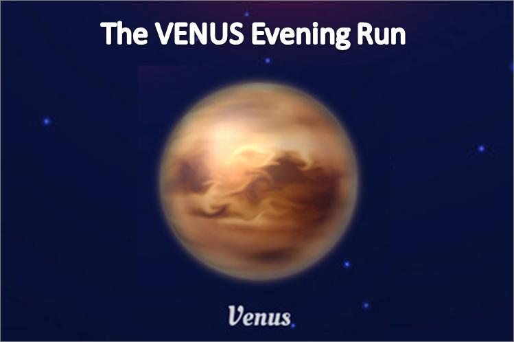 Phoenix Running Ltd, PHOENIX - The VENUS Evening Run - 2021 - online entry by EventEntry