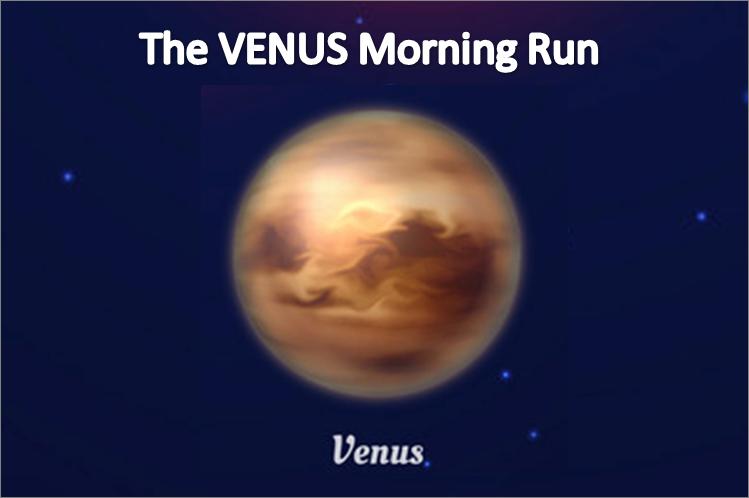Phoenix Running Ltd, PHOENIX - The VENUS Morning Run - 2021 - online entry by EventEntry