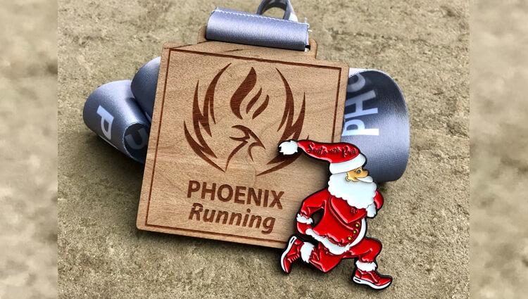 Phoenix Running Ltd, PHOENIX - VIRTUAL - Christmas Day 5K 2021 - online entry by EventEntry