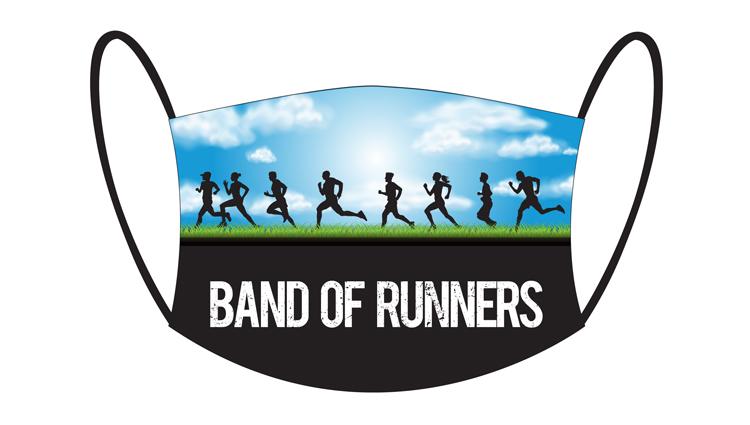 Phoenix Running Ltd, PHOENIX - Face Masks - Band of Runners - online entry by EventEntry
