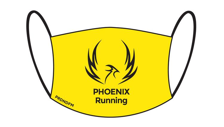 Phoenix Running Ltd, PHOENIX - Face Masks - online entry by EventEntry