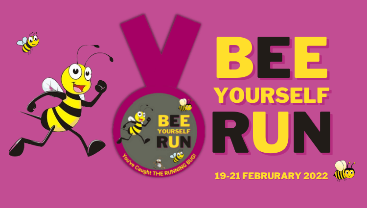 The Running Bug, THE RUNNING BUG - Bee Yourself Run - online entry by EventEntry