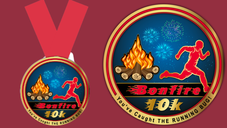 The Running Bug, THE RUNNING BUG - Bonfire 10k Virtual Challenge - online entry by EventEntry