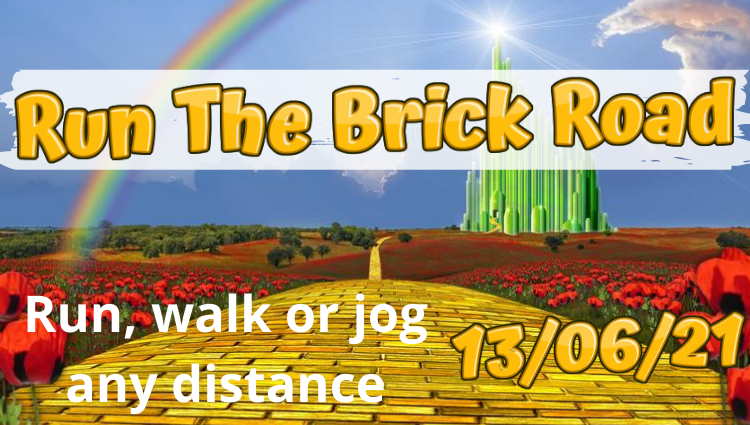 The Running Bug, THE RUNNING BUG - Run The Brick Road Virtual Run - online entry by EventEntry