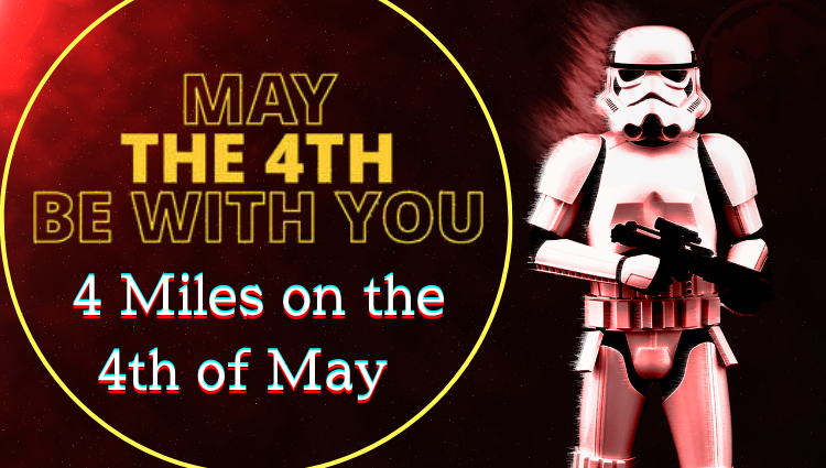 The Running Bug, THE RUNNING BUG - May the Fourth - 4 mile - online entry by EventEntry