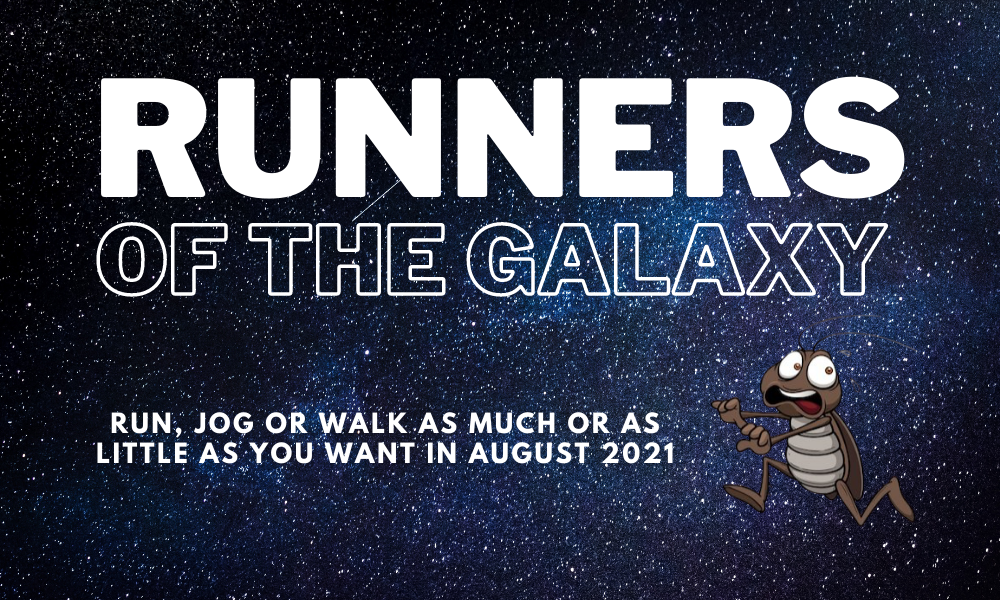 The Running Bug, THE RUNNING BUG - Runners of the Galaxy - online entry by EventEntry