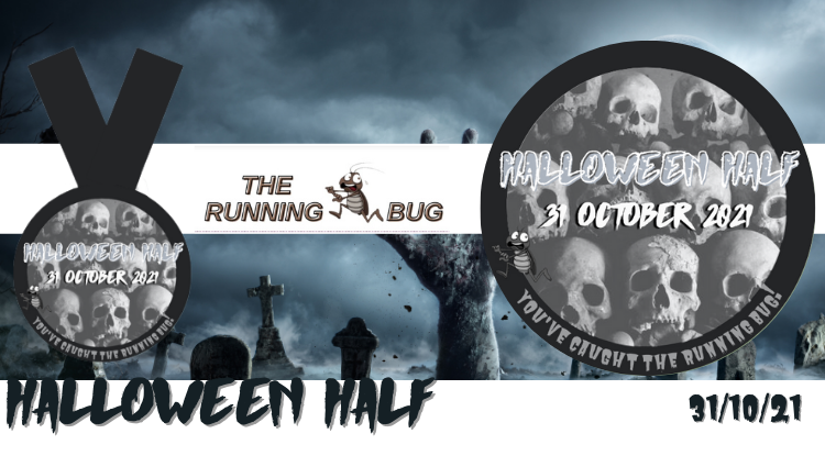 The Running Bug, THE RUNNING BUG - Halloween Half Virtual Challenge 2022 - online entry by EventEntry