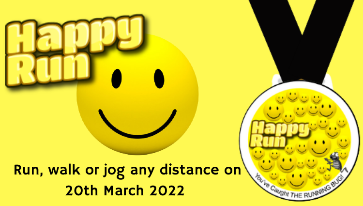 The Running Bug, THE RUNNING BUG - Happy Run Virtual Challenge 2022 - online entry by EventEntry