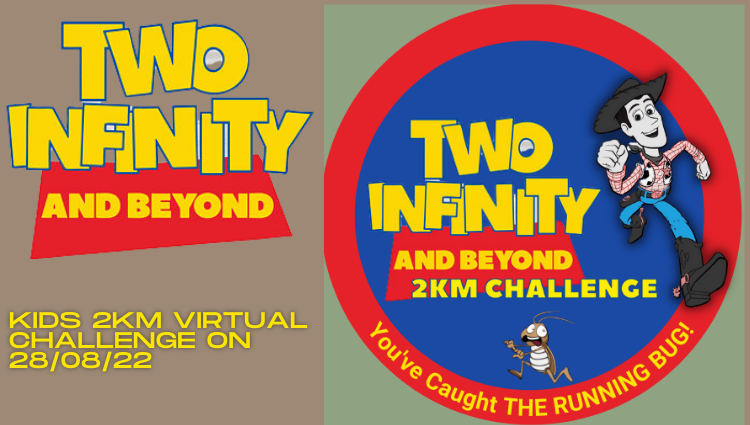The Running Bug, THE RUNNING BUG - Two Infinity and Beyond Children's Challenge 2022 - online entry by EventEntry