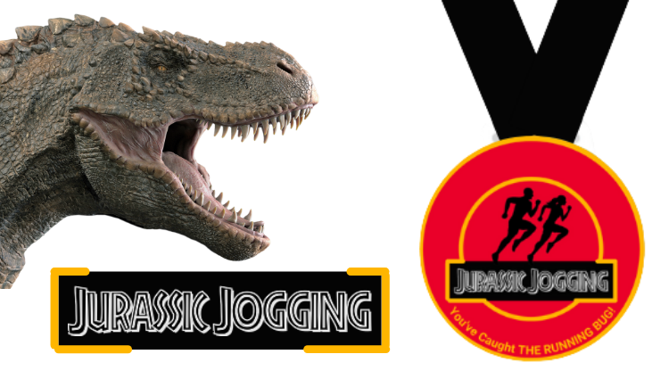 The Running Bug, THE RUNNING BUG - Jurassic Jogging Virtual Challenge 2022 - online entry by EventEntry