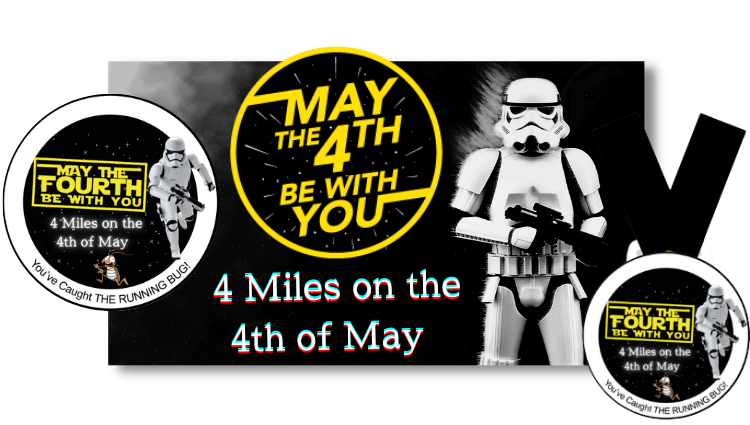 The Running Bug, THE RUNNING BUG - May the 4th Virtual Challenge 2022 - online entry by EventEntry