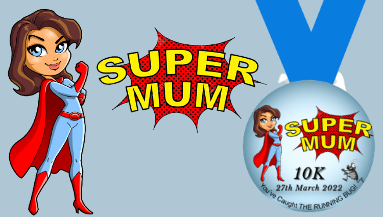 The Running Bug, THE RUNNING BUG - Super Mum 10k Challenge 2022 - online entry by EventEntry