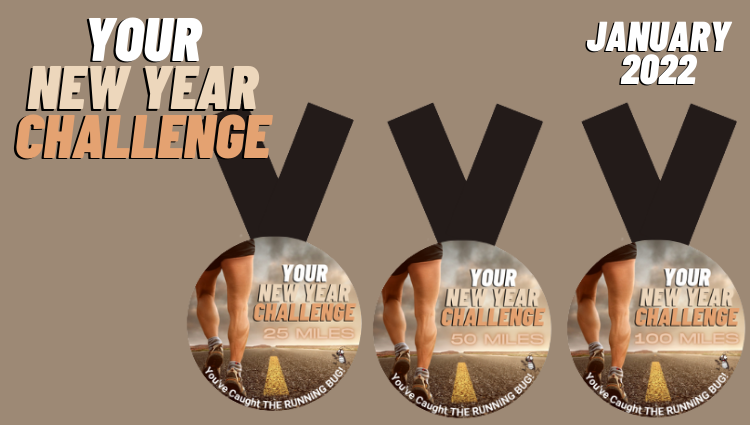 The Running Bug, THE RUNNING BUG - Your New Year Challenge - online entry by EventEntry