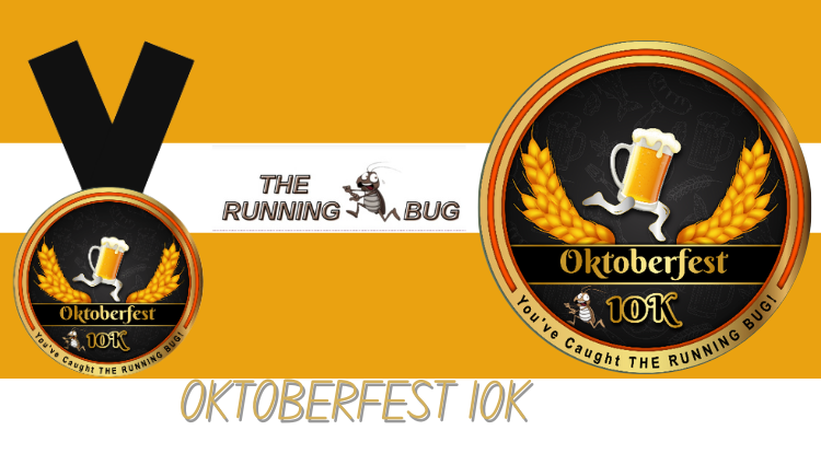 The Running Bug, THE RUNNING BUG - Oktoberfest 10k Virtual Challenge - online entry by EventEntry