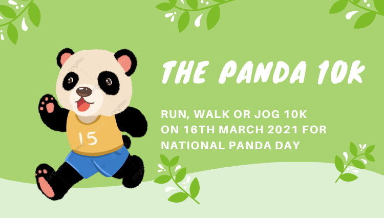 The Running Bug, THE RUNNING BUG - Panda 10k Virtual Challenge 2022 - online entry by EventEntry