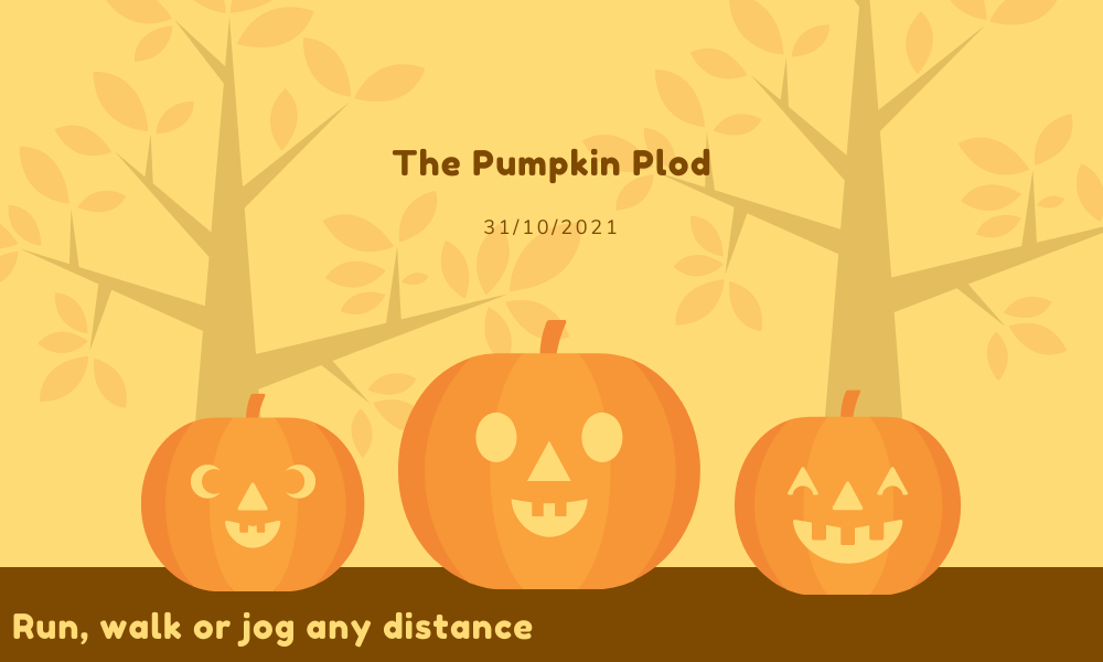 The Running Bug, THE RUNNING BUG - The Pumpkin Plod Virtual Run - online entry by EventEntry