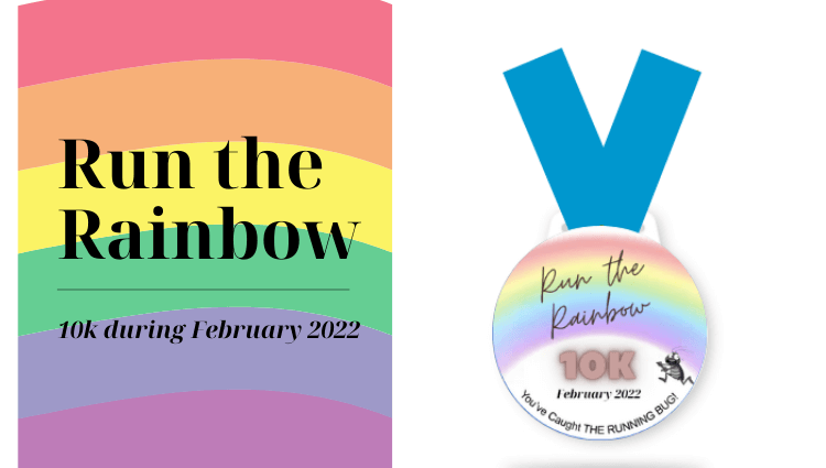 The Running Bug, THE RUNNING BUG - Run the Rainbow 10K - online entry by EventEntry